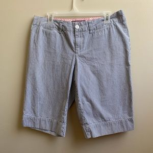 Vineyard Vines pinstripe Bermuda shorts 10